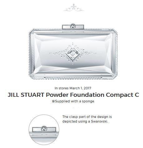 �ล�าร���หารู��า�สำหรั� Jill Stuart Everlasting Silk Powder Foundation Flawless Perfection